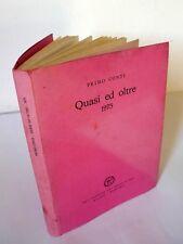 Primo Conti,QUASI ED OLTRE 1975,ALL'INSEGNA DEL PESCE D'ORO[arte,SCHEIWILLER