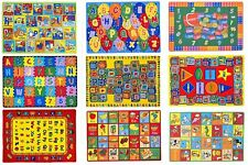 Kids Abc Rugs for Playroom 5X7 Boys Girls Nursery Room Decor Non-Skid