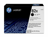 Genuine HP 82X Black High Yield Toner Cartridge C4182X