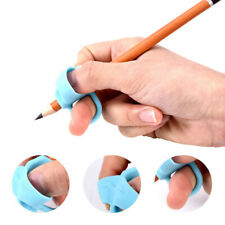 3Pcs Grip pencil help beginner writing silicone toys children thumb correcti_jn