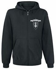 Behemoth The Satanist Hooded Sweatshirt With Zip Unisex Large