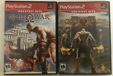 god of war & god of war 2 (greatest hits red label) 2-pack playstation 2 (ps2)