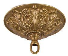 Aged Brass { Cast Brass } Ceiling Light Pendant Canopy Kit ~ #Cc853