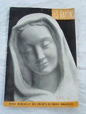 revue des enfants de Marie immaculée LES RAYONS décembre 1959 n°3
