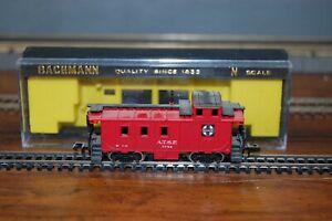 Bachmann N Scale A.T.&S.F. Santa Fe 36' Steel Caboose