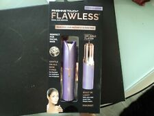 JML Finishing Touch Flawless Facial Hair Remover - Epilator - LAVENDER - GENUINE