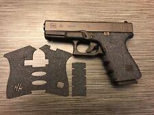 HANDLEITGRIPS Sandpaper Gun Grip Enhancements Gun Part for Glock 23 GEN 4
