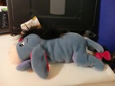 """Especially for The Disney Store New Eeyore 8-9"""" bean bag plush figure-New-w/Tags"""