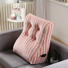 Triangular Large Seat Cushion Pillow Waist Back Sofa Comfortable Backrest Sofa