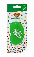 Jelly Belly Margarita Car Air Freshener 3D Gel Green Jelly Bean Hanging Freshner