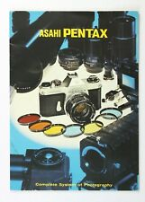 191621 Asahi Pentax Spotmatic System Information Brochure Genuine Original