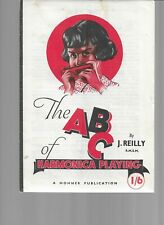 The Abc Of Harmonica Playing, A Hohner Publication