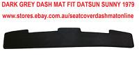 GREY DASH MAT, DASHMAT, DASHBOARD COVER FIT DATSUN SUNNY 1979 FLAT ACROSS