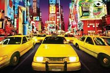 Times Square : Taxi - Maxi Poster 61cm x 91.5cm (new & sealed)