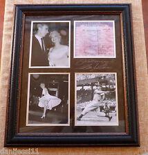 Marilyn Monroe y Joe Dimaggio, Plate Signatures, Fotos sin firmar, Enmarcado