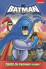Terror on Dinosaur Island! (Batman: The Brave and