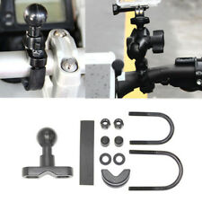 """Motorcycle Bike Handlebar 1"""" Ball Mount Base Bracket For Garmin Zumo GPS Cradle"""
