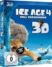 ICE AGE 4, Voll verschoben (Blu-ray 3D + Blu-ray Disc) NEU+OVP