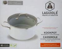 Fait tout céramique Laguiole  24CM - Haut de gamme - Tous feux - - Anti Adhésif