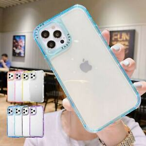 Clear Phone Case For iPhone 13 12 Pro Max 11 XS XR 8 7+ Shockproof Bumper Cover