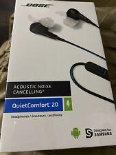 BOSE QUIET COMFORT 20. ACOUSTIC NOISE CANCELING HEADPHONES For Samsung