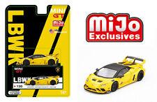 Mini GT 1/64 LB WORKS Yellow Lamborghini Huracan GT-Giallo Auge Model MGT00130