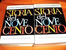 LUIGI   SALVATORELLI, STORIA DEL NOVECENTO A. MONDADORI EDITORE 1967 IN ASTUCCIO