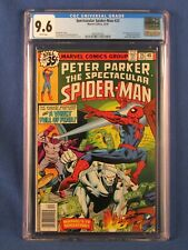 MARVEL COMICS CGC 9.6 SPECTACULAR SPIDER MAN 25 12/78 WHITE PAGES