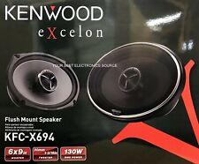 "NEW Kenwood KFC-X694 Excelon 6""x9"" 2-Way Coaxial Car Audio Speakers (PAIR) 6x9"