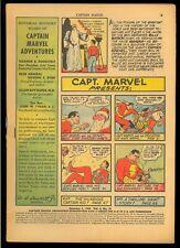 Captain Marvel Adventures #19 Coverless Early Mary Marvel Family Comic 1943