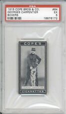 1915 Cope Bros & Co GEORGES CARPENTIER #64 PSA 5 EX Vintage Boxing Card