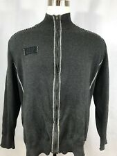 BUCKLE BLACK XXL Mens Full Zip Sweater Jacket