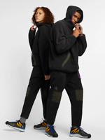 New Nike ACG Sherpa Fleece Pants Black Grey Purple Men's SIZE L AJ2014-010