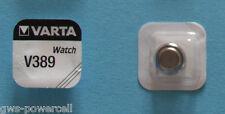10 x VARTA Uhrenbatterie V389 SR1130W 81mAh 1,55V SR54 Knopfzelle AG10