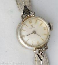 Tissot Woman's Vintage Mechanical Swiss Diamond Watch