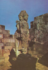 Brahma Statue at Prambanan Temple   Java  Indonesia