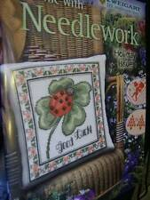 Zweigart At Home With Needlework Holiday Cross Stitch Book #3- Butterflies, Pump