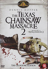THE TEXAS CHAINSAW MASSACRE 2 *REGION 2 DVD* NOT COMPATIBLE WITH U.S/CA PLAYERS*