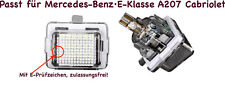 2x TOP LED SMD Kennzeichenbeleuchtung  Mercedes-Benz·E-Klasse A207 Cabriolet 412
