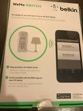 Belkin WeMo Automatic Switch Power Outlet for iPhone Use w Free WeMo App Nib!