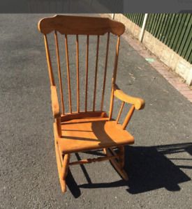used wooden rocking chair good [condition]