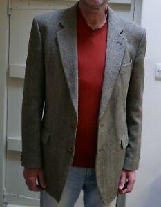 "vintage mens Donegal Tweed jacket , st michael , 42"" long"