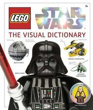 The Visual Dictionary Lego Jason Fry, Dorling Kindersley Star Wars VGUC no lego