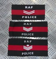 Genuine British Royal Air Force Police RAFP Armband Armlet Various Ranks