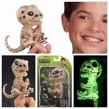 Fingerlings Untamed GLOOM Bonehead Dinosaur Skeleton Raptor Glow InThe Dark RARE