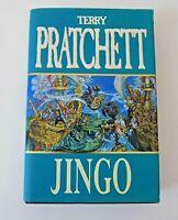 Jingo Terry Pratchett Discworld #21 1st Edition 1997 Hardback Book Dust Jacket