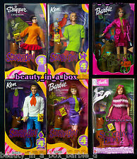 "SCOOBY DOO Barbie Doll Daphne Velma Fred Shaggy Monsters Unleashed Lot 6 PG"" 4"