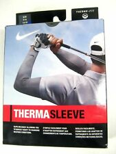 NIKE ThermaSleeve Golf Arm Sleeve THERMA-FIT Sports Unisex Size L/XL Black