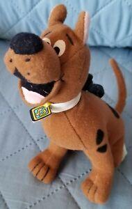 Plush 1999 Scooby Doo Cartoon Network Keychain Backpack Purse Clip On