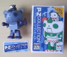 Panda Z 04 PZ Sat P-Z Collection Japanese Mini Action Figure Toy Dark Blue + Box